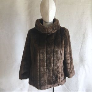 Banana Republic Faux Mink Fur Pullover Jumper Top